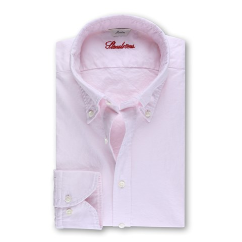 Casual Slimline Oxford Shirt Light Pink