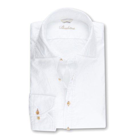 White Casual Slimline Shirt