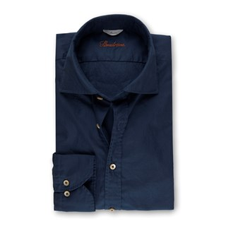 Blue Casual Slimline Shirt