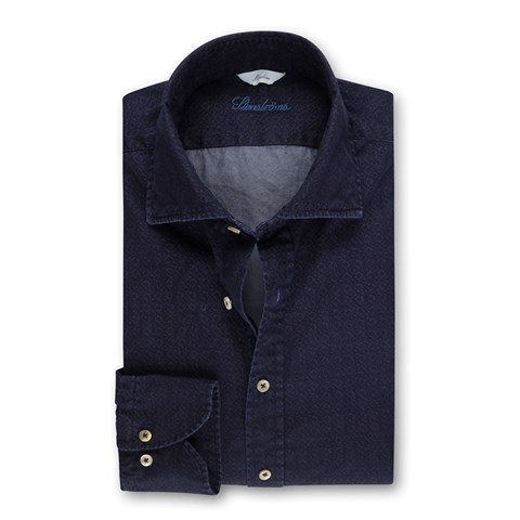 Casual Slimline Denim Shirt