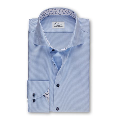 Hounds tooth Slimline Shirt, Extra Long Sleeves
