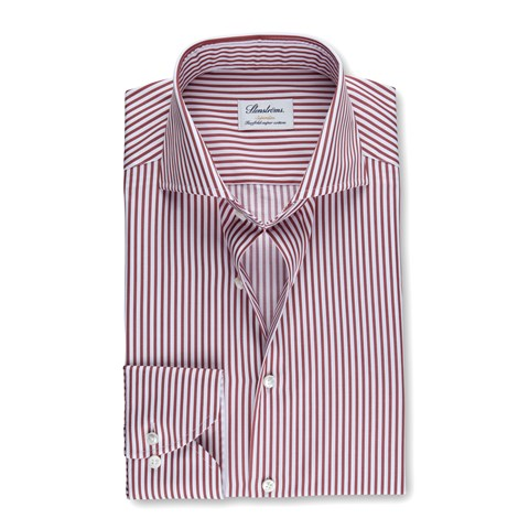 Red Striped Superslim Shirt