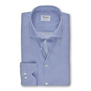 Blue Cadet Striped Superslim Shirt