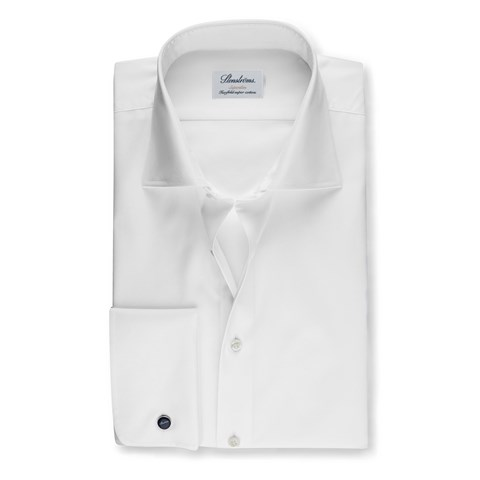 White Superslim Shirt With French Cuffs