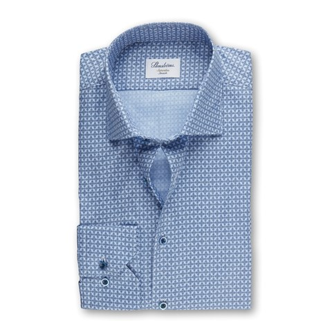 Micro Patterned Superslim Shirt