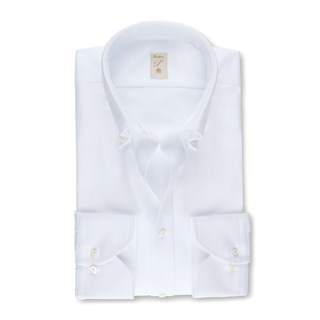 White Heritage Oxford Fitted Body Shirt