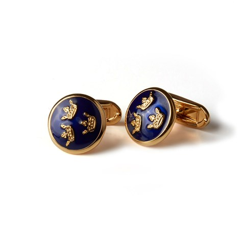 Three Crowns Cuff Links