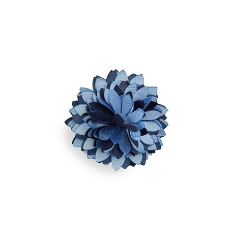 Navy/Blue Boutonniere