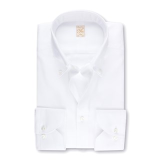 1899 Slim Shirt - Royal Oxford, White