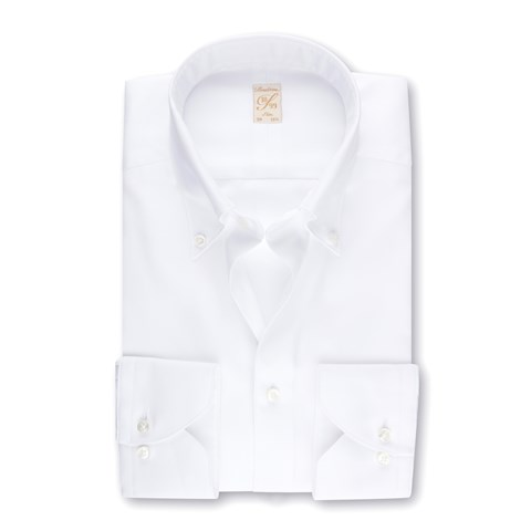 White Royal Oxford 1899 Slim Shirt