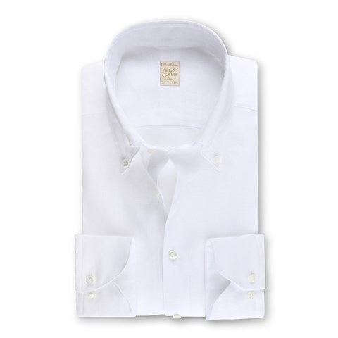 1899 Slim Shirt - Linen, White