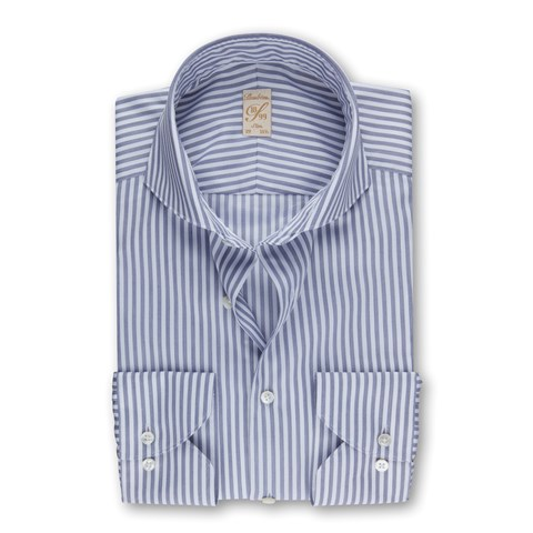 Striped Twill 1899 Slim Shirt