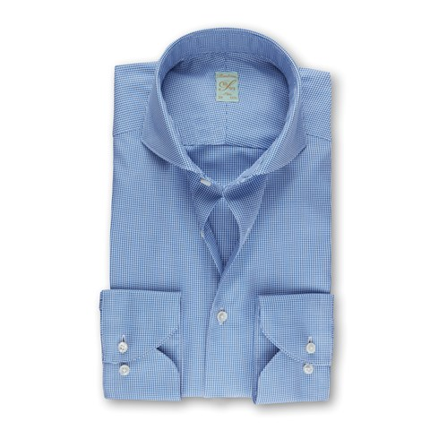 Blue Oxford 1899 Slim Shirt