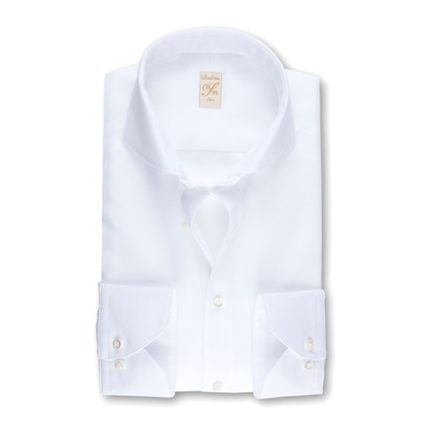 White Textured 1899 Slim Shirt