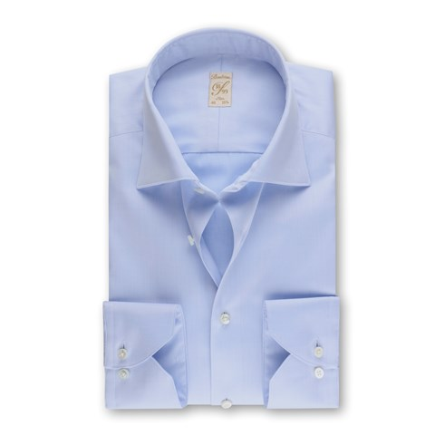 1899 Slim Shirt - Organic Cotton, Blue