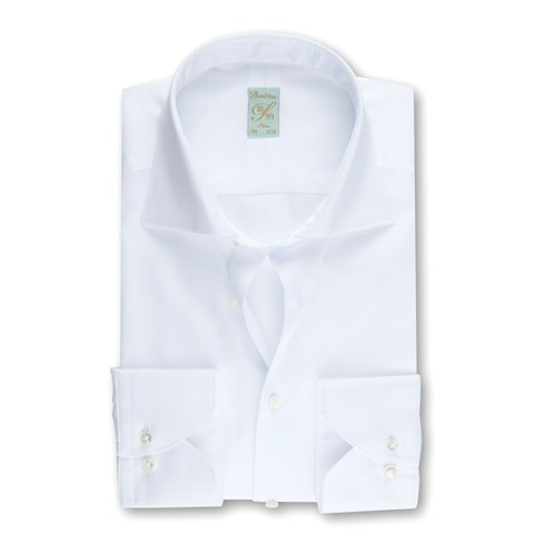 1899 Slim Shirt - Zigzag, White