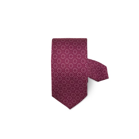 Cerise Patterned Tie