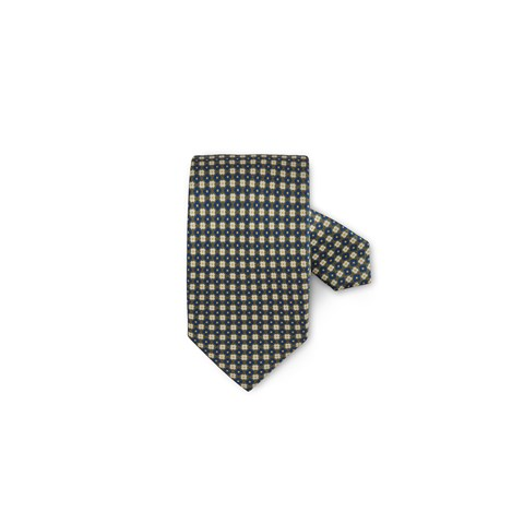 Forest Green Floral Silk Tie