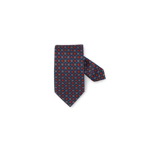 Patterned Wool & Silk Tie