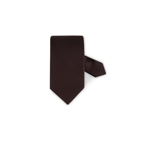 Silk Tie Brown