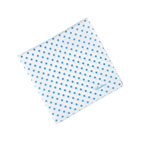 Polka Dot Cotton Hankie