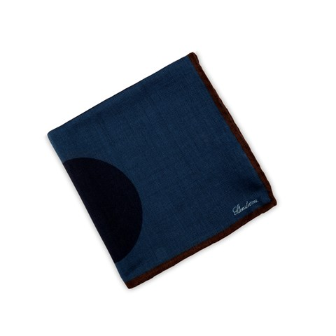 Graphic Wool Hankie