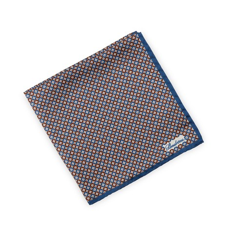 Patterned Silk Hankie