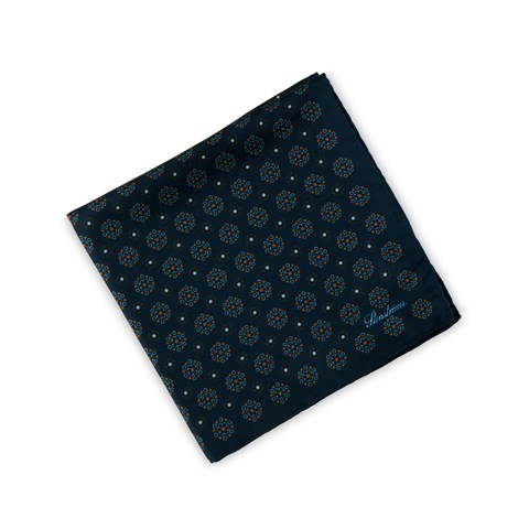 Graphic Patterned Hankie