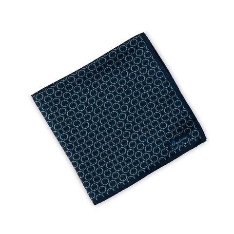 Graphic Circle Patterned Hankie