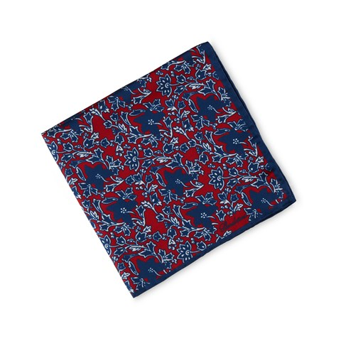 Flower Patterned Hankie