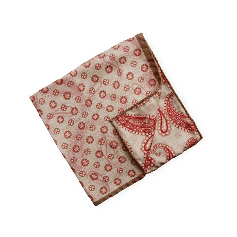 Reversible Silk Hankie