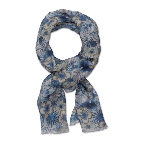 Tropical Cotton Scarf