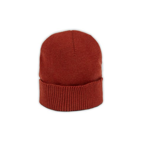 Rust Merino Wool Hat