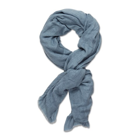 Denim Blue Mélange Scarf